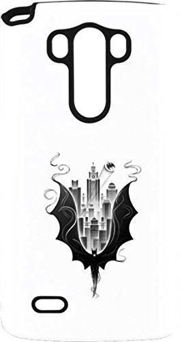 DC Comics Batman LG G3 Stylus Pro Case - Batman City Scape Pro Case For Your LG G3 Stylus (Phone G3 Lg Batman Case)