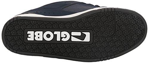 Globe  Fusion,  Herren Sneaker Low-Tops , blau - marineblau / rot - Größe: (M) US
