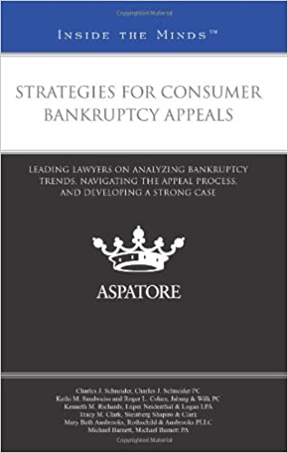 Téléchargements ebook pour ipod gratuit Strategies for Consumer Bankruptcy Appeals: Leading Lawyers on Analyzing Bankruptcy Trends, Navigating the Appeal Process, and Developing a Strong Case (Inside the Minds) en français PDF FB2