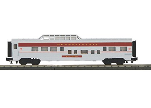 MTH MTH3067912 O-27 60' Streamlined Vista Dome, ()