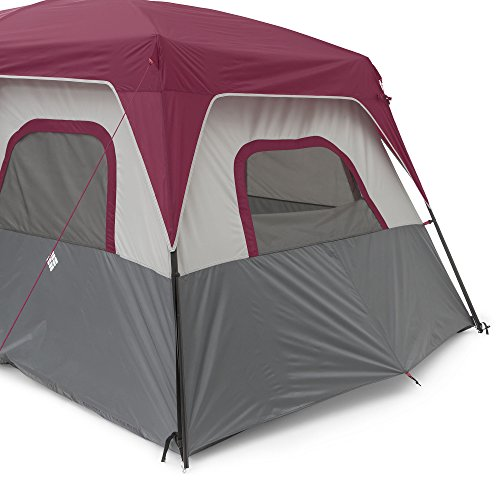 COLUMBIA 8 Person Dome Tent Red/Grey  sc 1 st  C&ing Companion : columbia tent - memphite.com