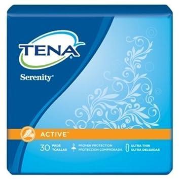 Tena/Serenity Ultra Thins Light, Regular Length, Case/180 (6 bags