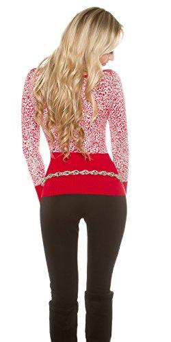 In-Stylefashion - Sudadera - para mujer Rojo