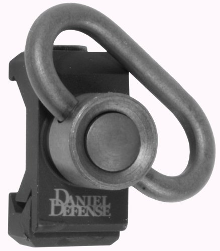 Daniel Defense Rail Mount QD Point Sling Swivel, Picatinny Rail - 03-021-30029 by Daniel Defense