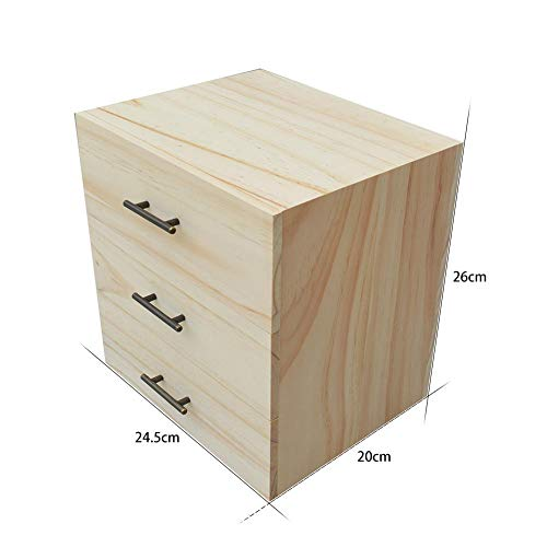 Labyrinen 3 Layers 96 Compartment Wooden Essential Oil Storage Case Storage Box Large Organizer