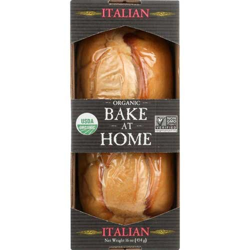 Essential Baking Company Organic Bake at Home Italian Bread, 16 Ounce - 12 per case.
