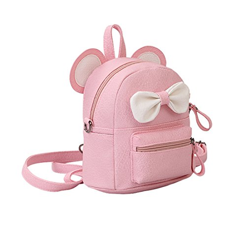 Jual LA CHA Girls Mini Cute Cat PU Leather Backpack Purse -  a957428d0ab63