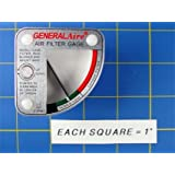 General Aire G99 Media Air Cleaner Filter Gauge