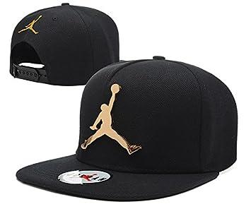Iee- New Arrive Fashion Golden Metal Michael Jordan Snapback Hats Baseball  Caps Style 12 456acb18f49