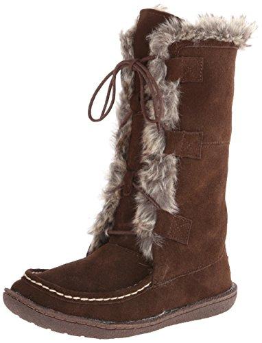Staheekum Women's Callie Snow Boot - Chocolate - 7 B(M) US