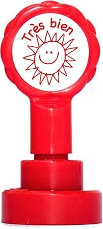 Teacher Stamps BR004/cm insegnante auto-inchiostrazione timbro set per Courage continuare colore casuale