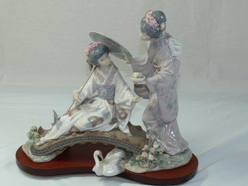 Lladro Springtime In Japan Figurine 1445