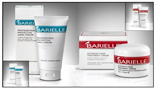 - Barielle Protective 6 oz. & Intensive 4 oz. Hand Cream - Combo Pack with FREE GIFTS!