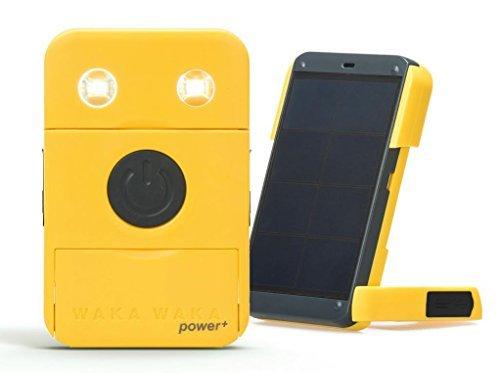 WakaWaka Power+ Solar-Powered Flashlight + Charger – 2200mAh, White