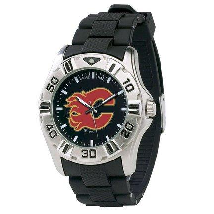 Game Time Men's NHL-MVP-CAL Calgary Flames MVP Series Watch (Nfl Mvp Watch Series)