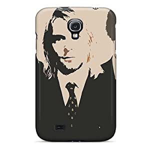 Protective Hard Cell-phone Cases For Samsung Galaxy S4 With Support Your Personal Customized High-definition Nirvana Skin DeanHubley