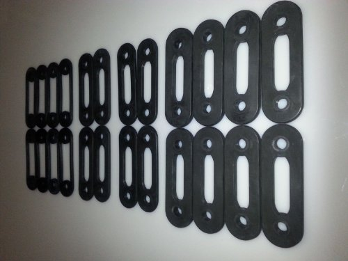 SoloFlex Replacement Band Set-280lb Set (8) 25lb Bands + (4) 10lb Bands + (4) 5lb Bands + (8) 2.5 Bands- Brand New- 1 Year Manufacturer Warranty