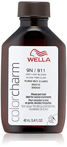 Wella Color Charm Liquid 9n Very Light Blonde, 1.42 oz