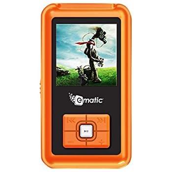 amazon com ematic 1 5 inch color mp3 video 2g orange home audio rh amazon com