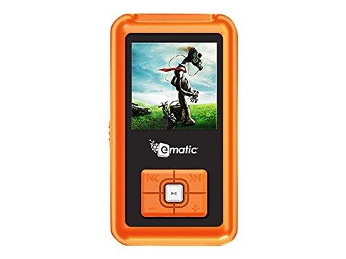 Ematic 1.5-Inch Color MP3 Video 2G, Orange