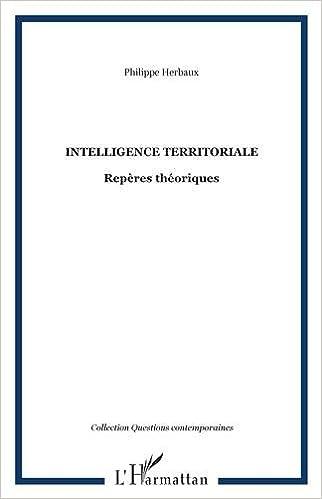 En ligne téléchargement Intelligence territoriale : Repères théoriques pdf