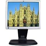 """17"""" HP 1740 DVI Swivel/Pivot LCD Monitor w/USB Hub (Black)"""