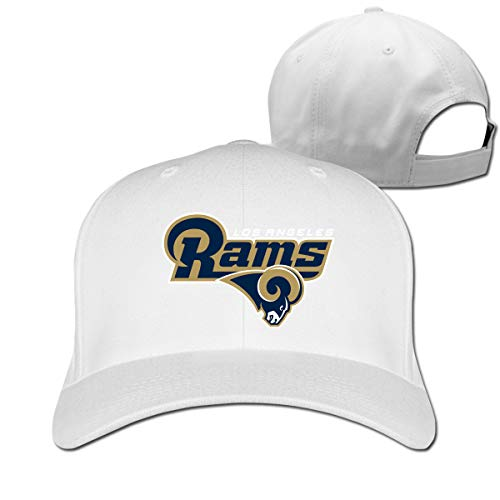 Sorcerer Los Angeles Rams 100% Cotton Soft Adjustable Baseball Cap for Men and Women
