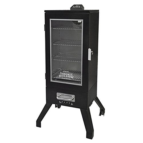"Smoke Hollow 36"" Digital Electric Portable Backyard BBQ Smok"