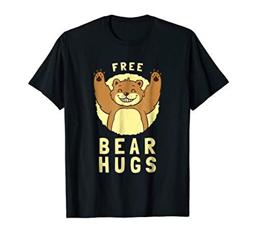 Free Bear Hugs T-Shirt - Funny Bear Animal Joke