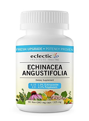 Institute Eclectic Echinacea - Echinacea Angustifolia Freeze-Dried Eclectic Institute 90 VCaps by Eclectic Institute