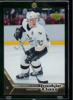 Amazon 2005 2006 Upper Deck Rookie Class Sidney Crosby Rookie