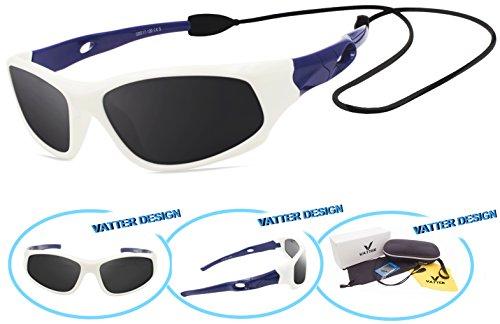 VATTER TR90 Unbreakable Polarized Sport Sunglasses For Kids Boys Girls Youth - Youth Sunglasses Sport