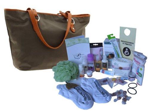 Basic Labor Bag, Baby Bag & Dad Hospital Labor Bag Bundle