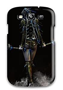 Galaxy High Quality Tpu Case/ Woman With Two Swords Fantasy Women Warrior Abstract Fantasy EQZjqaA21737eXSgT Case Cover For Galaxy S3