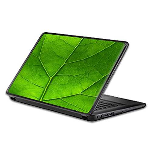 Universal Laptop Skin - Green Leaf | Protective, Durable, and Unique Vinyl Decal wrap Cover | Easy to Apply, Remove, and Change Styles | Made in The USA