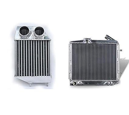 Supeedmotor de aleación de aluminio radiador y Intercooler para 5 GT Turbo 1.4L