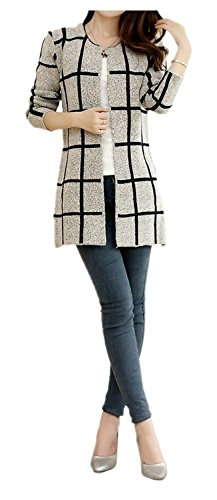 ARJOSA Womens Crewneck Cardigan Jacket