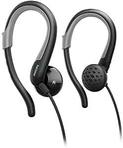 Philips SHS4800 - Auriculares de clip, negro