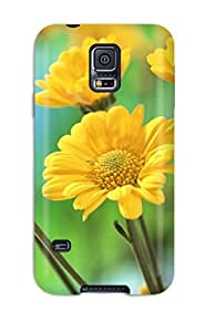 Perfect Fit WESQaVX1246OzwUl Hd Flowerss Case For Galaxy - S5