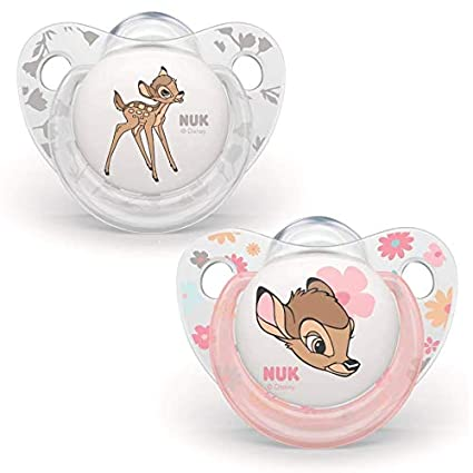 NUK Set di 2 succhietti Disney Baby Dumbo 6-18 mesi: Amazon ...