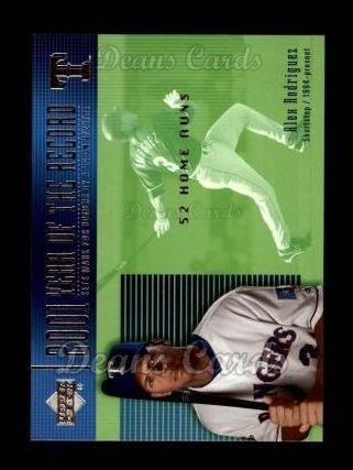 2002 Upper Deck # 732 Alex Rodriguez Texas Rangers (Baseball Card) Dean's Cards 8 - NM/MT Rangers