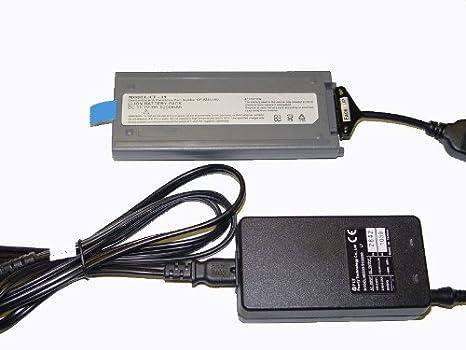 Amazon.com: Batería externa portátil cargador para Panasonic ...