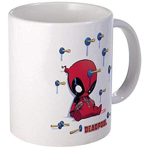 CafePress Deadpool Toy Darts Mug Unique Coffee Mug, for sale  Delivered anywhere in USA