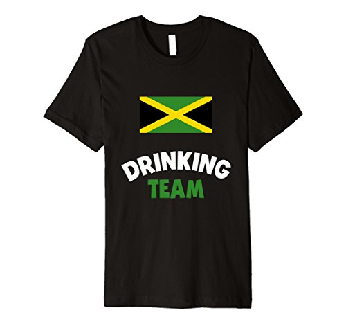 Mens Jamaica Drinking Team Premium Shirt Country Alcohol Beer Tee XL Black