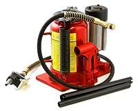 XtremepowerUS 20 Ton Low Profile Air Manual Hydraulic Bottle Jack Lifts Hoist