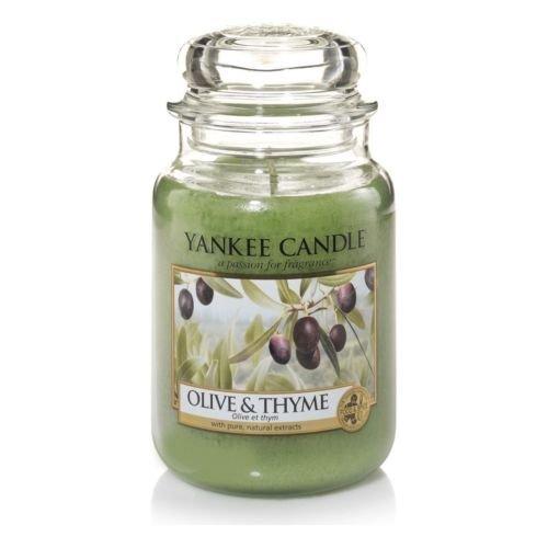 Olive & Thyme Yankee Candle Large 22oz Jar