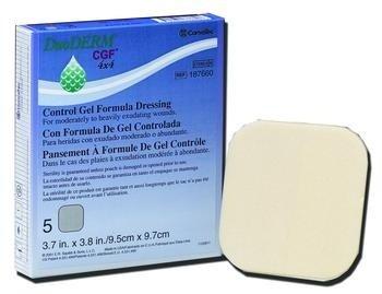 Duoderm® Cgf® Control Gel Formula Dressing 4x4 inches/Each