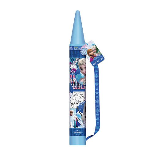 Frozen Activity Tote With Crayon Shaped Bag And Bank Fun Pad Stickers