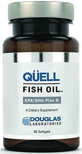 Douglas Laboratories Quell Fish Oil EPA DHA Plus D -- 60 Softgels