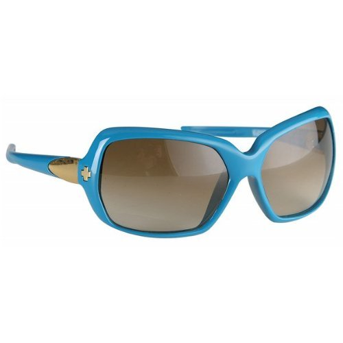 SPY OPTIC DYNASTY TURQUOISE PLASTIC BRONZE FADE LENS SUNGLASSES - Models Sunglasses Spy
